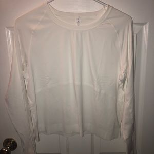 White Lululemon Long Sleeve